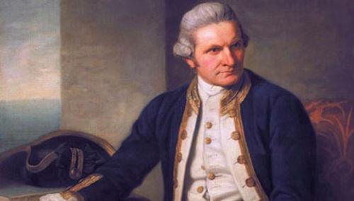 2. James Cook (1728 – 1779)