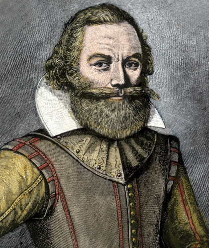 3. John Smith (1580 – 1631)